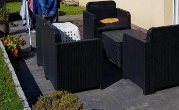 Création d'une terrasse en béton à Brest 29200