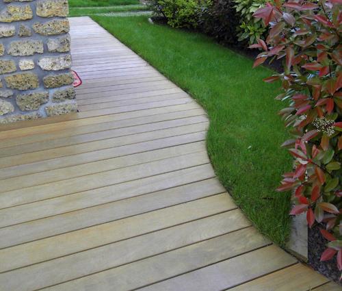 Création d'une terrasse à Plougastel Daoulas 29470
